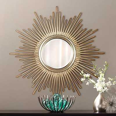 "Sunburst Reflections 38"" High Wall Mirror - Lamps Plus"
