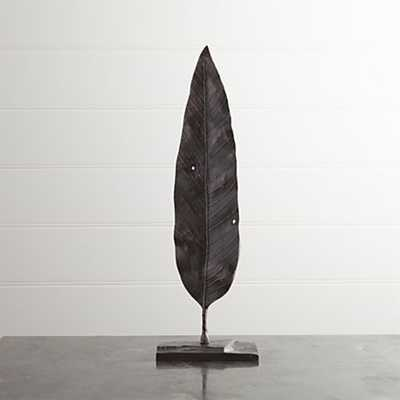 Mango Leaf On Stand - Crate and Barrel