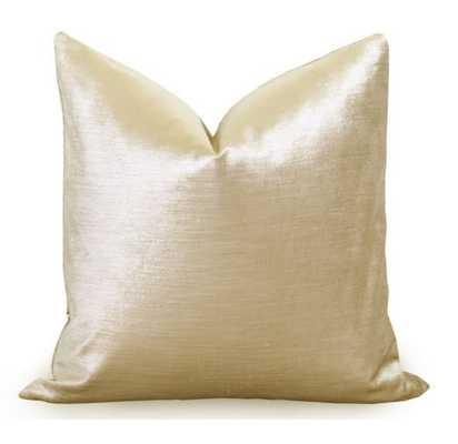Glisten Velvet Pillow Cover - 22x22 - No Insert - Willa Skye