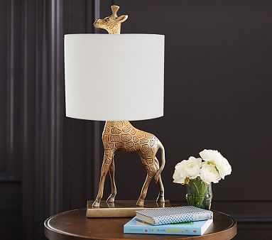 Emily & Meritt Giraffe Complete Lamp - Pottery Barn Kids