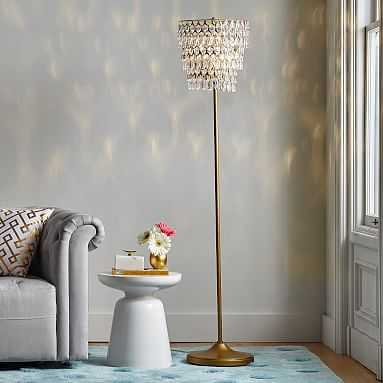 Tear Drop Floor Lamp - Pottery Barn Teen