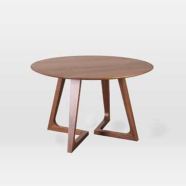 Dean Round Dining Table - West Elm