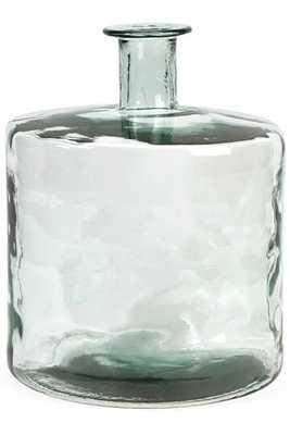 Vettriano Short Recycled Glass Vase - Overstock
