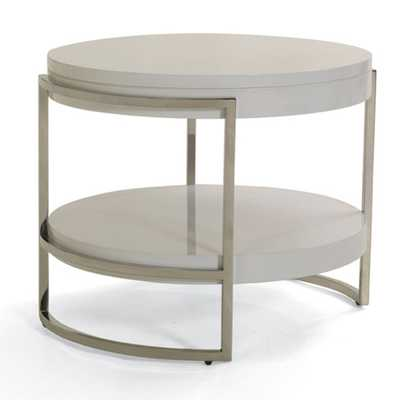 LAWSON ROUND SIDE TABLE - Mitchell Gold + Bob Williams