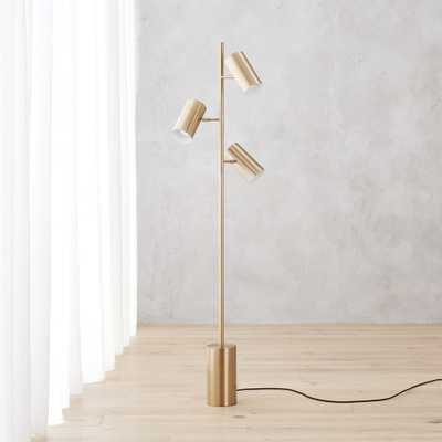 trio floor lamp - CB2