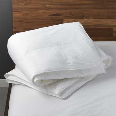 down-alternative full/queen duvet insert - CB2