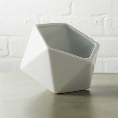 clarity white bowl - CB2