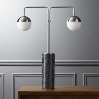 empire table lamp - CB2
