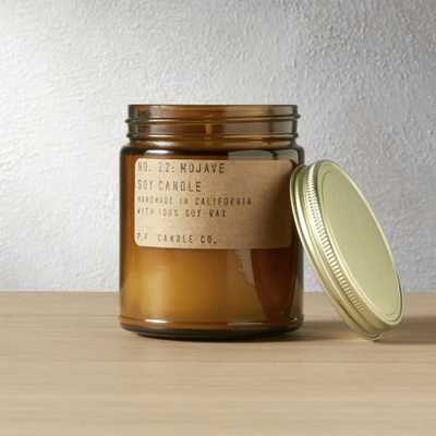 mojave soy candle - CB2