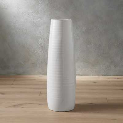spin glossy vase - CB2