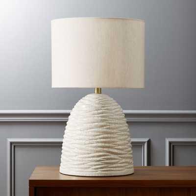 beehive table lamp - CB2