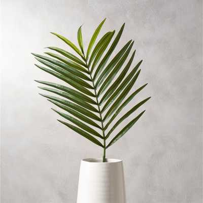 faux phoenix palm leaf - CB2