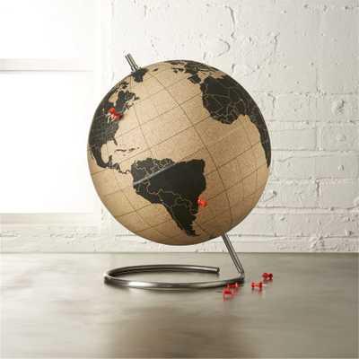 cork globe - CB2