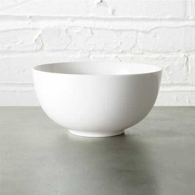 contact white bowl - CB2