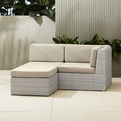 ebb outdoor sectional - CB2