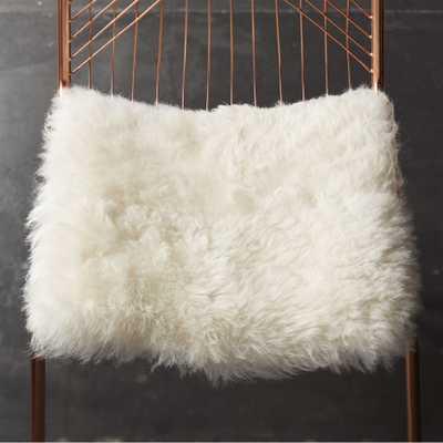 icelandic sheepskin chair pad - CB2