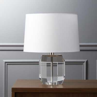 carat table lamp - CB2