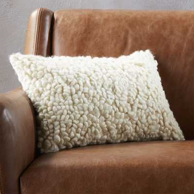 """18""""x12"""" toodle pillow with down-alternative insert"" - CB2"