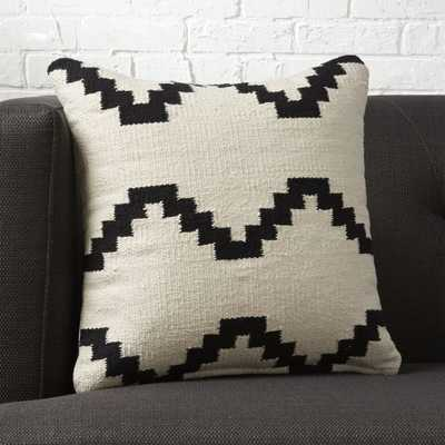 "16"" zbase throw pillow with down-alternative insert - CB2"