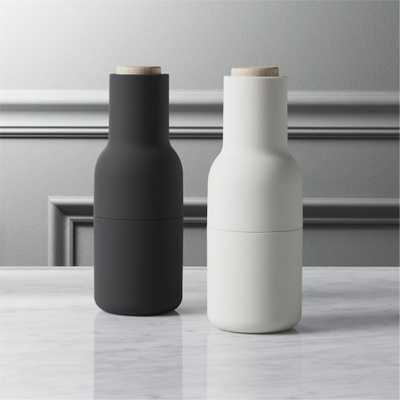 2-piece neutral salt and pepper grinder set - CB2