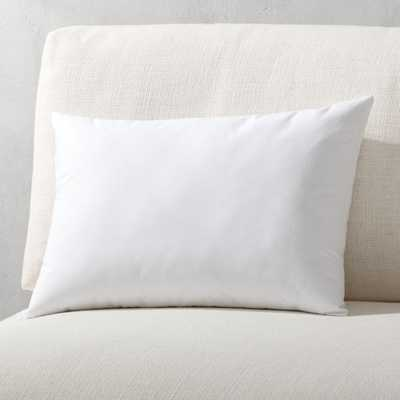 """18""""x12"""" down alternative pillow insert"" - CB2"