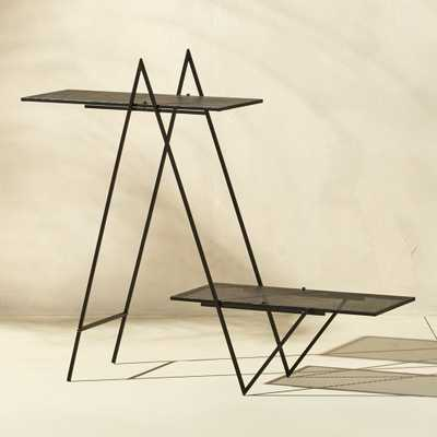 angled plant stand - CB2
