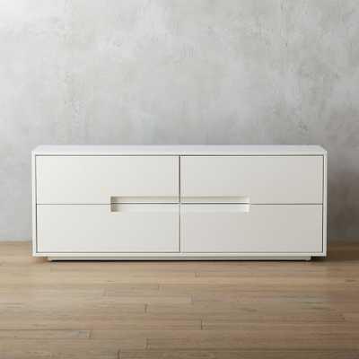 latitude white low dresser - CB2