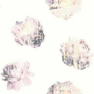 DOUBLE EXPOSURE - Prepasted Wallpaper - Double Roll - York Wallcoverings