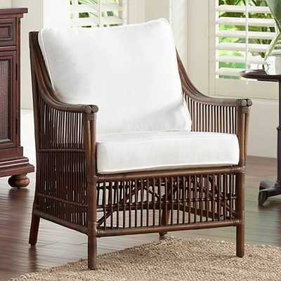 Panama Jack Bora Bora Cushioned Rattan Lounge Chair - Lamps Plus