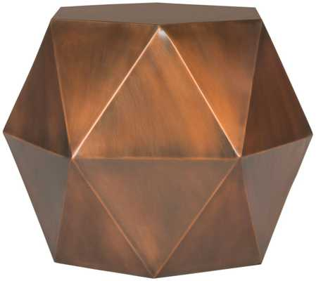 ASTRID FACETED SIDE TABLE - Arlo Home