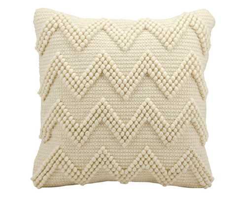 "Ivory Large Chevron Throw Pillow (20""x20"") - Nourison - Target"