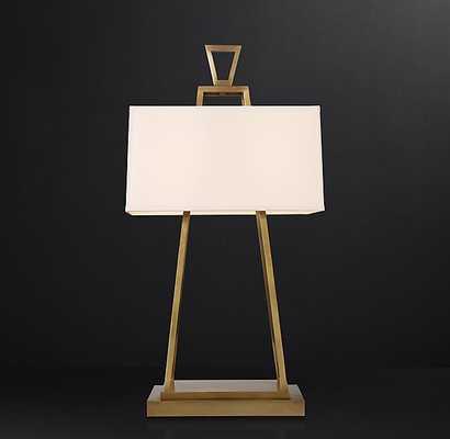 MARCEL TABLE LAMP (bronze) - RH Modern