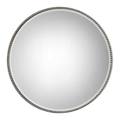 "Stefania - round mirror 40"" - Hudsonhill Foundry"