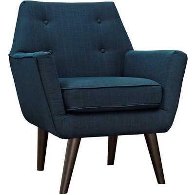 POSIT ARMCHAIR IN AZURE - Modway Furniture