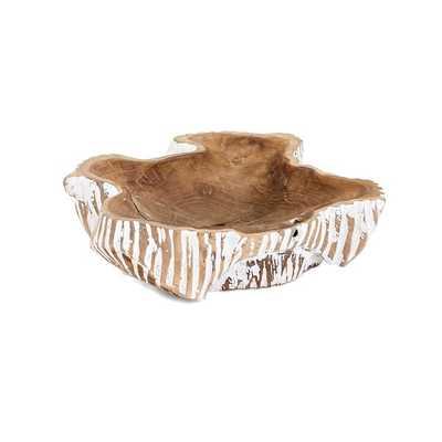 Lasker Carved Wood Decorative Bowl - Mercer Collection