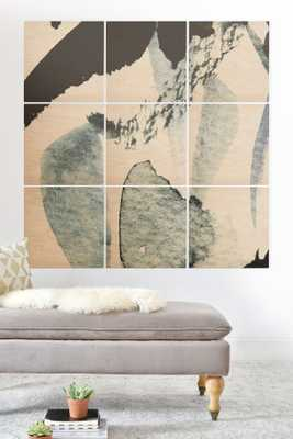ABSTRACTM5 Wood Wall Mural 5'x5' - Wander Print Co.