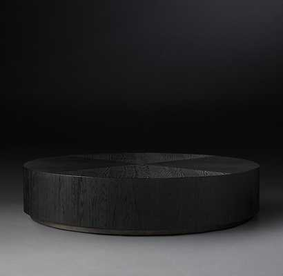 "Machinto round coffee table, 36"" - RH"