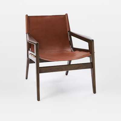 Felipe Leather Sling Chair - West Elm