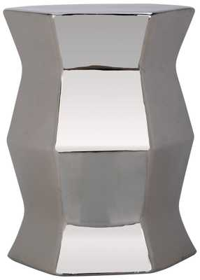Modern Hexagon Garden Stool - Arlo Home