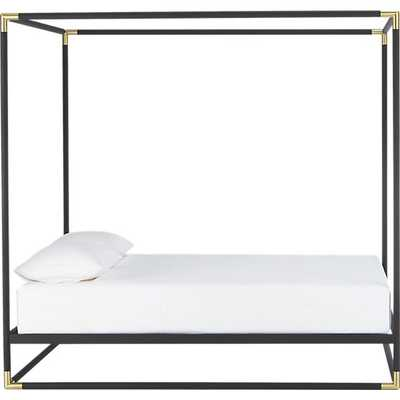 Frame canopy bed - Queen - CB2