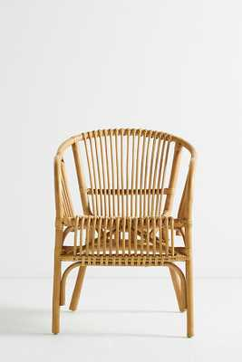 Pari Rattan Chair - Anthropologie