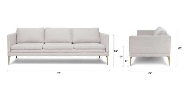 Triplo sofa - Milkyway Ivory - Article