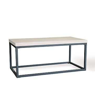 Slab Box Frame Coffee Table - West Elm