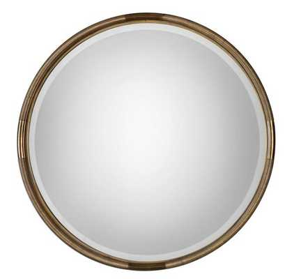 Finnick Round Mirror - Hudsonhill Foundry