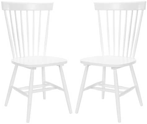 "PARKER 17""H SPINDLE DINING CHAIR (SET OF 2) - Arlo Home"