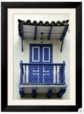 CHARMING SPANISH COLONIAL ARCHITECTURE, OLD CITY, CARTAGENA, COLOMBIA - art.com
