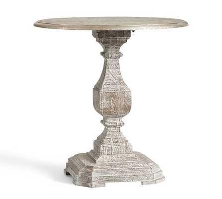 Silvia Pedestal Side Table - Pottery Barn