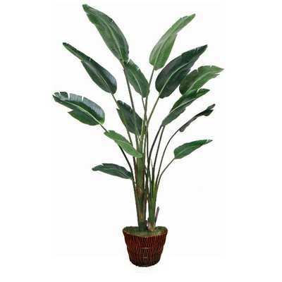 Traveller Palm Faux Tree - Wayfair
