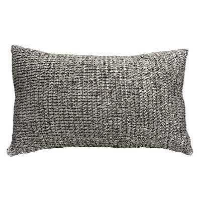 Knitted Ribbon Lumbar Pillow - Wayfair