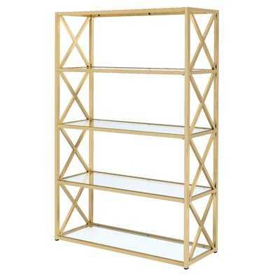 """Lorenza 77"""" Etagere Bookcase - Wayfair"""